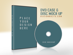 Free CD - DVD Disc Cover Mock Up PSD by Designbolts