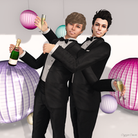 SL: New Years Eve Boys by CryssieCarver