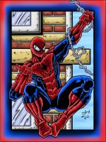 9-15-13 Spidey commission completed by StraitArrowGraphix