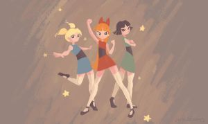 Powerpuff Girls by H-SWilliams