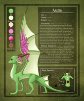 Ardith - Ref Sheet by hannahspangler