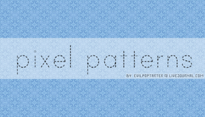 Pixel Patterns by VampyreGoddess