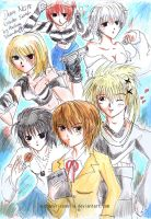 Deathnote : Who's Sexiest? by AuchanVriconella