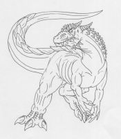 Dracodontosaurus for tonymuyo by Scatha-the-Worm