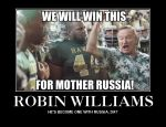 Robin Williams Became One With Russia by CallMeFinland