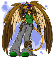 Commission - GypsyGryph by obliviousally