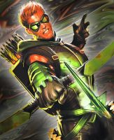 Green Arrow by PureDeluxe