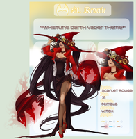St-Reverie .:Scarlet Rouge:. by Trix-ster