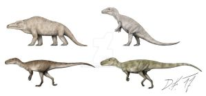 Now and then: Megalosaurus by Pachyornis