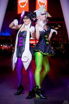 Callie and Marie - Splatoon by Mostflogged