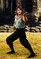 Mortal Kombat - The Movie: Liu Kang by JhonatasBatalha