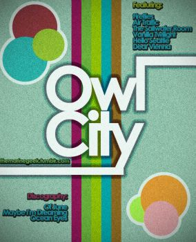 Owl City by baloneyart