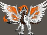 Sky Wing markings 2 Flame Tiger Stripe and Spots by blackzero04
