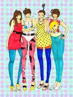 2NE1 by EpicNeutral