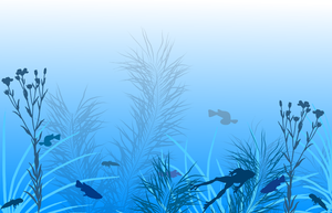 Under the Water Wallpaper by HelenLight