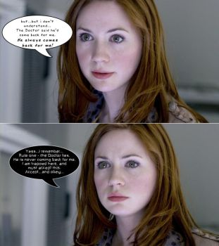 The Girl Who Waited (Karen Gillan/Amy Pond) by wujeeboy