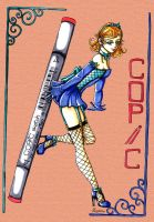 Copics Pinup by Pixy-Brand