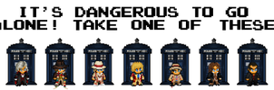 8-bit Doctor by CosmicThunder