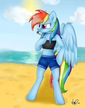 Beach Dashie by ShyShyOctavia