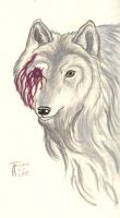 Ghost of a Wolf by Inkwerk