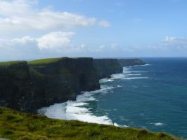 Cliffs of Moher by Sleepwalker1803
