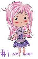 Chibi Adoptable #1 (Open) by SprinkleSprankles
