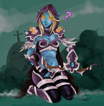 Sylvanas Windrunner by Sohilicious