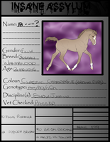 IA Foal Papers-French Brigand X 10 Minute Romance by x-XInsomniaX-x