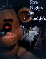 Freddy Fazbear Poster by GamesProduction