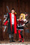 Harley Quinn and Dante DMC and a HAPPY NEW YEAR! by CharionArt