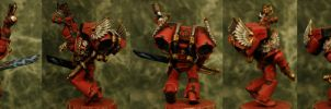 Blood angels sergeant by antharon