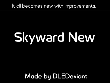 Skyward New by DLEDeviant