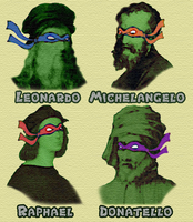 TMNT Artists by Enlightenup23