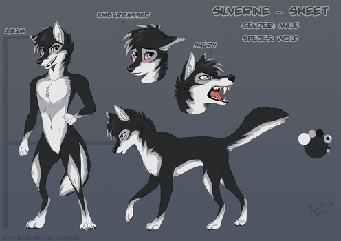 [Com] Silverine Sheet by RukiFox