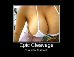 Epic Cleavage by PiratesLiveinAll