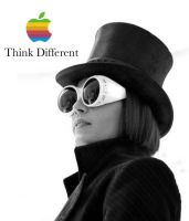 Genius Think Different by cristalmermaid
