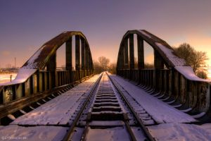 Railway Bridge by Rygas