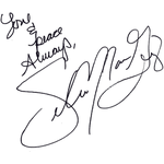 selena autograph png by AniiEditions
