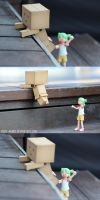 Go Danbo! by Itchy-Hands