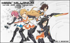 Mirai Millenium - Mirai Artwork Contest by MMrailgun