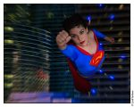 Superman Takes Flight by Adurosphoto