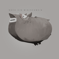 Teacup Pig by SandroRybak