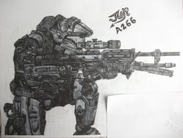 Jun from Halo:Reach by HaloReach726