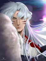 Sesshomaru Fan Art by LaikenDesignz