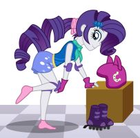 Rarity - roller skate look by sumin6301