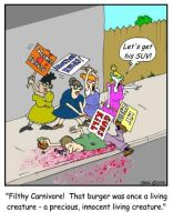 Tolerant Protesters by Conservatoons