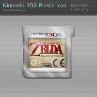 Nintendo 3DS Plastic Cartridge Icon by blinkybill