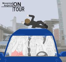Weeping Angels on tour by Schokopocky