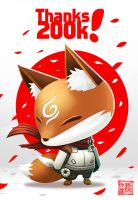 Thanks 200K! by Wenart