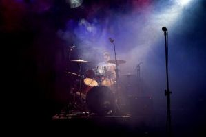 Me + Drums + Smoke by DraconicX